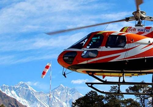 Everest Base Camp With Helicopter