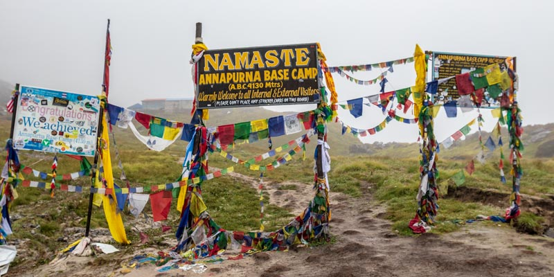 Annapurna Base Camp Trek 11 Days