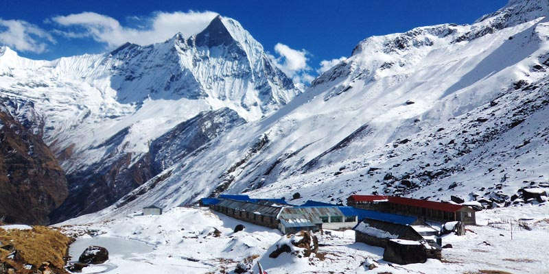 Annapurna Base Camp-Trekkig in Annapurna Reason