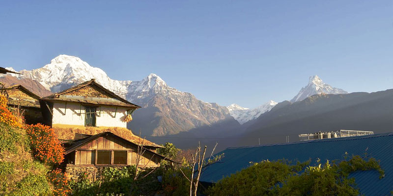 Cultural Village of Annapurna Base Camp Trekking