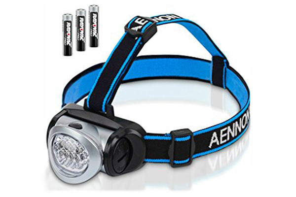 Head Torch (Spare Bulb and Batteries)