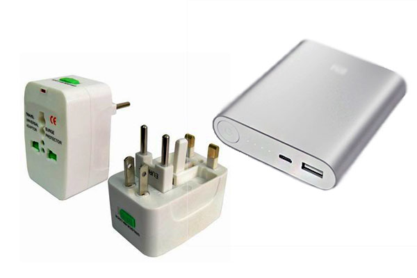 Universal Travel Adaptor and Power Bank For travelers