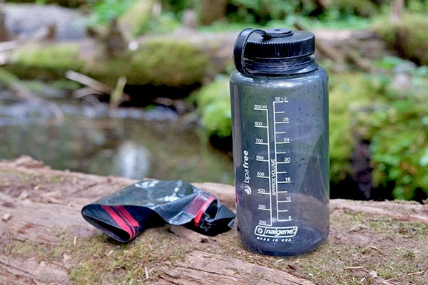 Water Bottle for Backpacking, Trekking and Hiking