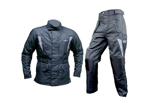 Waterproof trousers and jackets