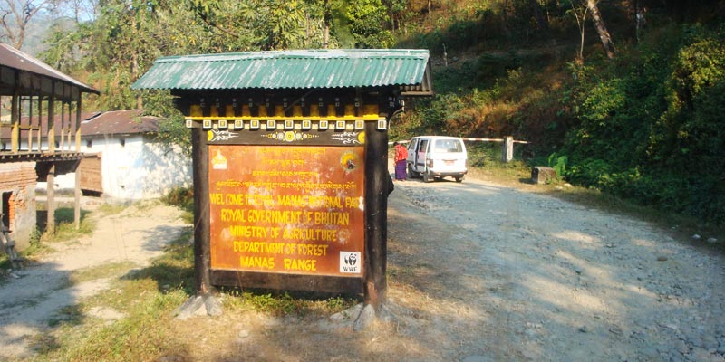 THe Royal Manas National Park - Best Places to Visit in Bhutan