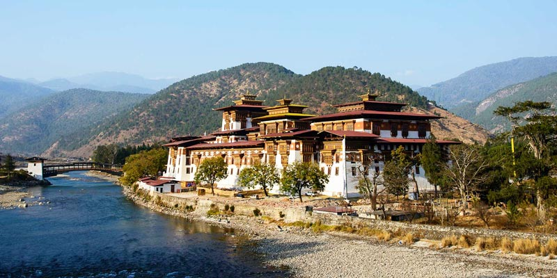 Punakha Dzong-Best Places to Visit in Bhutan
