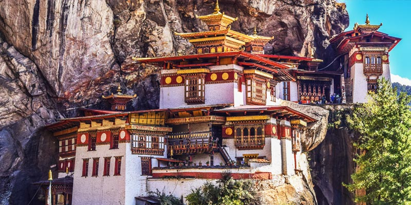 Tiger's Nest - Best Places to Visit in Bhutan