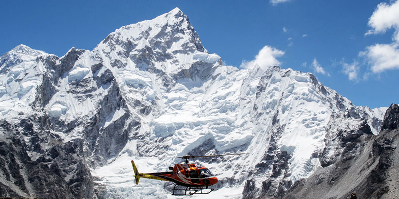 Everest Helicopter Tours (Landing at Kalapather 5550 Meter for Best Himalayas View)