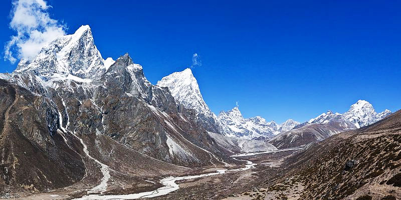 Main View of Everest Base Camp Trek