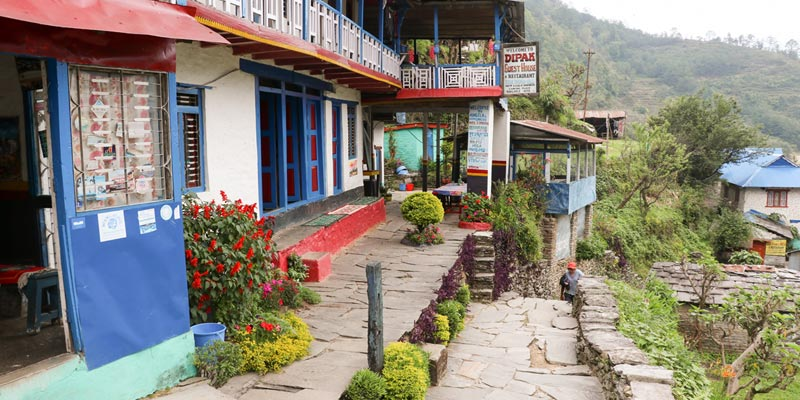 Tea House Accommodation in Ghorepani Poonhill Trek