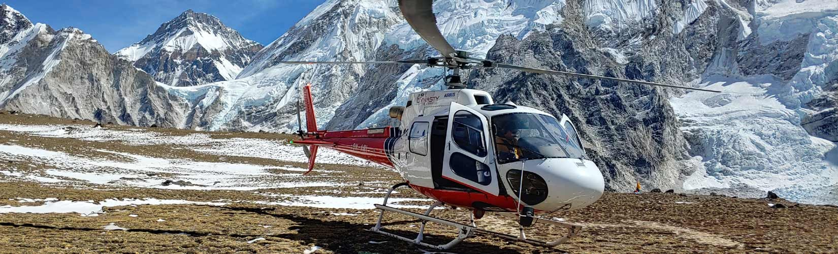 Mount Everest Base Camp Helicopter Tour, Heli tour in Nepal