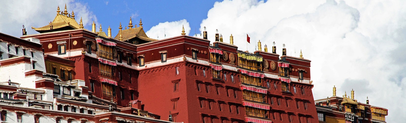 The Potala Palace in Lhasa, Tibet Autonomous Region