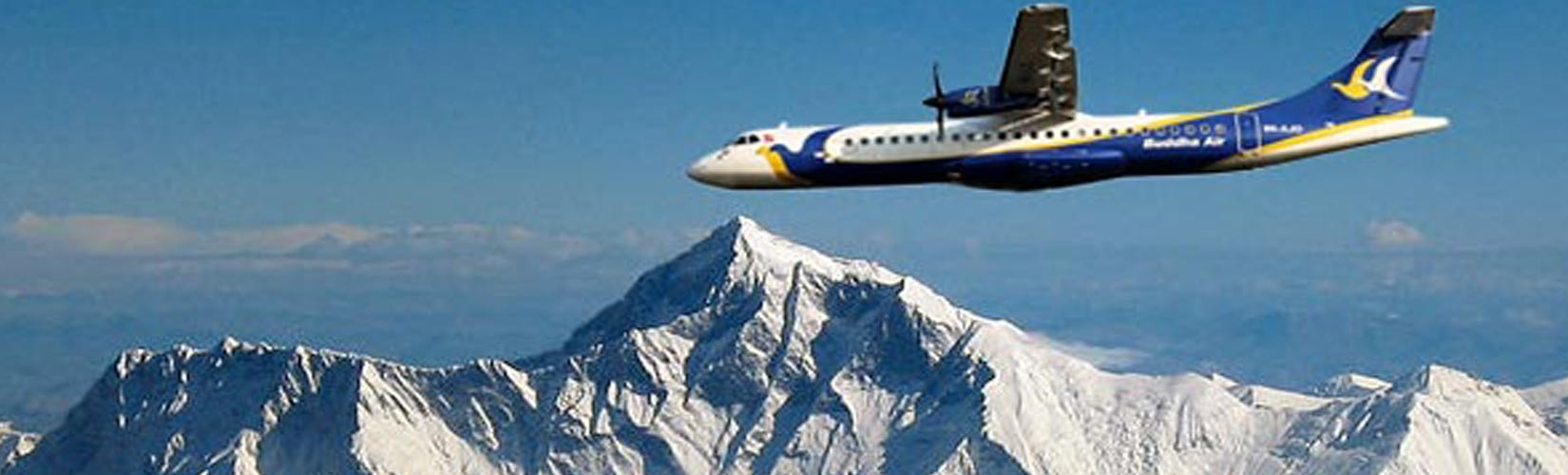 Book Mountain Flight in Nepal