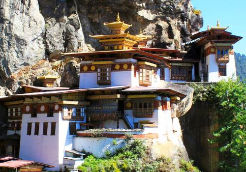 Bhutan Tour 3Nights 4Days -Taktsang Palphug Monastery and the Tiger's Nest