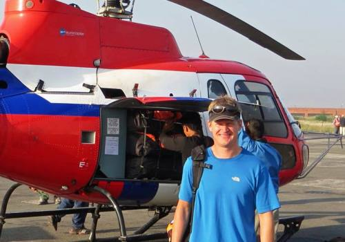 Everest Base Camp to Kathmandu Helicopter Pickup and Drop off Service
