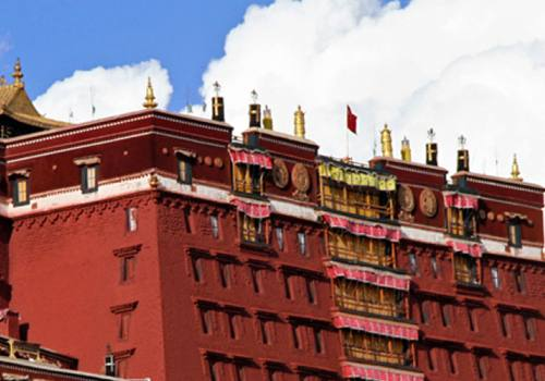 Potala Palace - Kathmandu Lhasa Everest Base Camp Tour - EBC