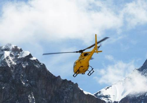 Lukla to Base Camp Helicopter